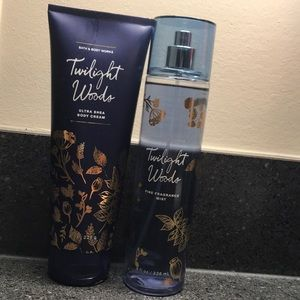 Combo body cream and fragrance mist Bath and Body